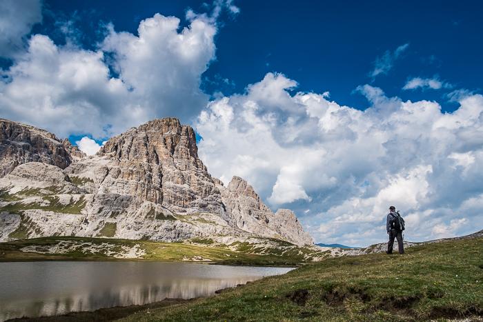 Jonas Kiesecker Dolomites in Italy